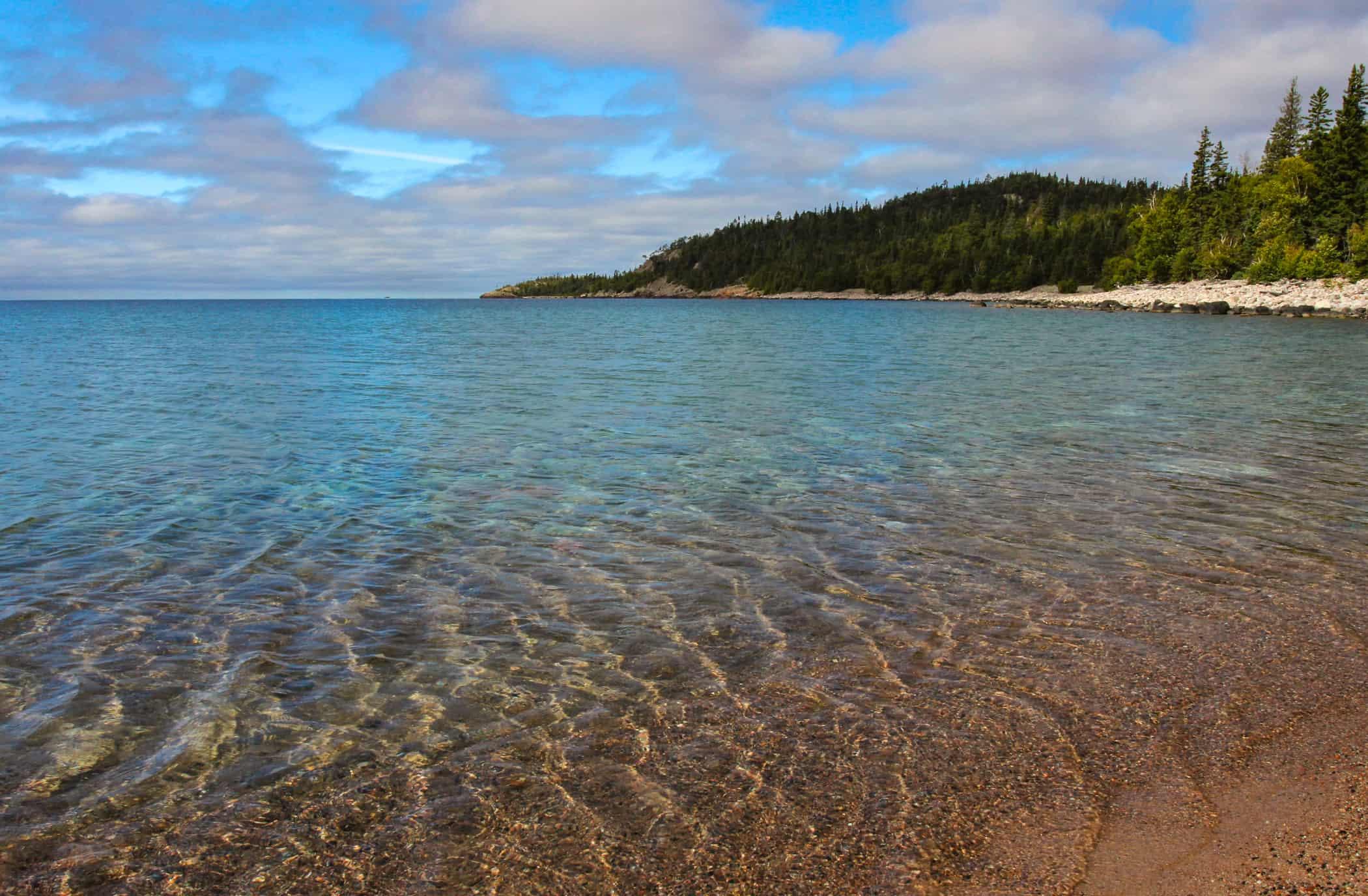 Lake Huron water quality