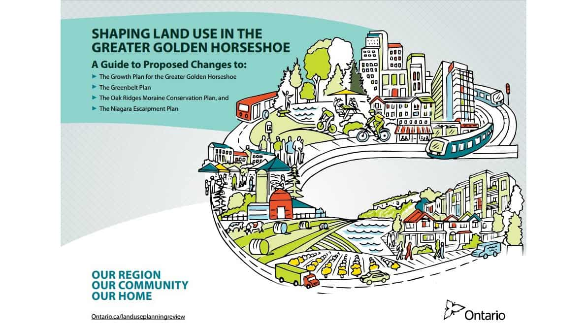 Land use in the greater golden horseshoe
