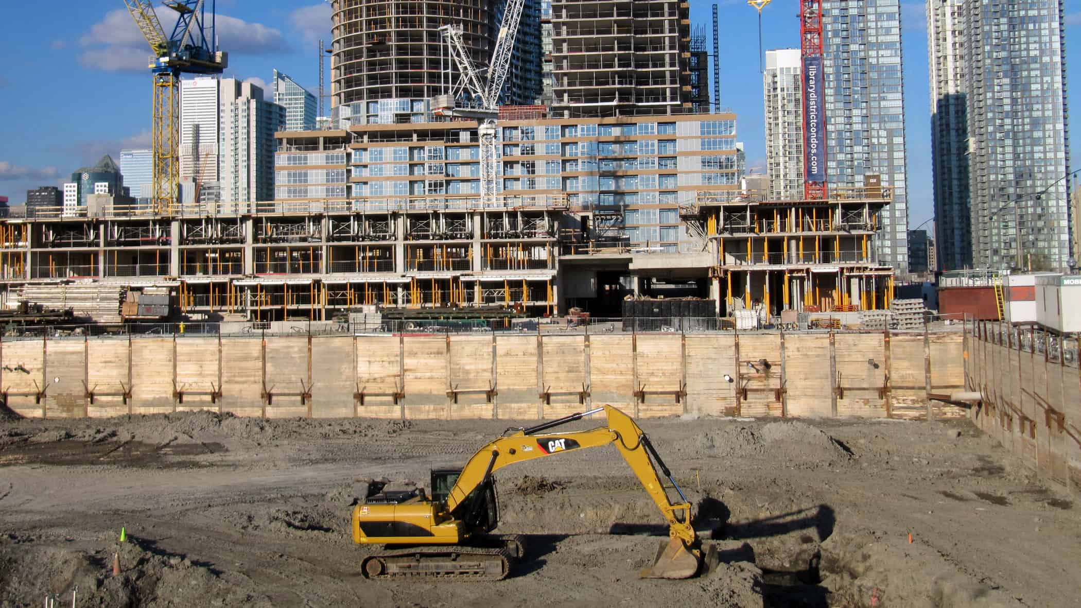 Construction in Toronto