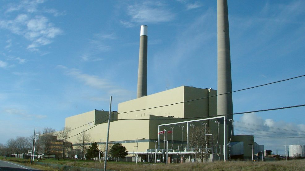 Phasing-out Ontario's gas-fired power plants