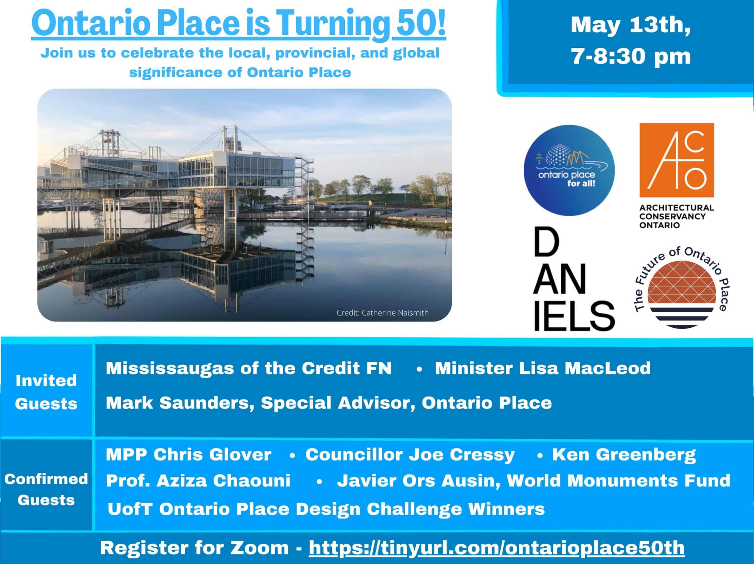 Ontario Place is turning 50